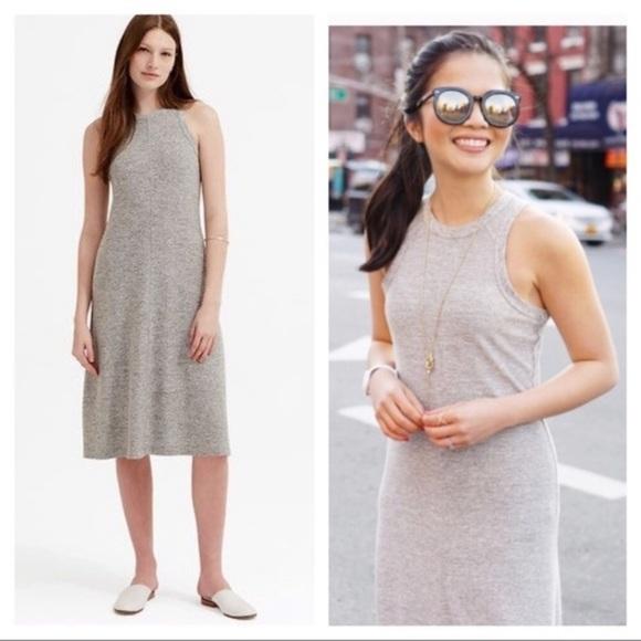 Lou & Grey Dresses & Skirts - Lou & Gray grey Racerback midi dress